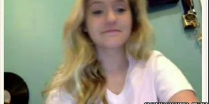 Beautiful 18 Year Old Blonde Plays Omegle Game Porn Videos