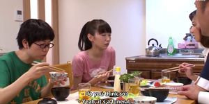 DVDES-644 Jav.guru (English subbed) A World Where Sex Is Extremely Easy 6 Special part 1 A family lunch Porn Videos