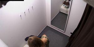CZECHCABINS - Czech Blonde Cuttie Spied in Shopping Mall