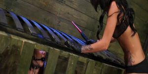 Alexis Rodriguez get sybian domination
