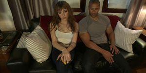 Shemale anal fucks black bf doggy (Robert Axel, Kylie Maria)