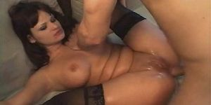 SICFLICS - Brutally fisted and gigantic dildo fucked whore