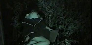 Midnight outdoor bench sex TNAFlix Porn Videos
