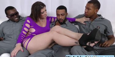 Busty mom forces son to witness BBC TNAFlix Porn Videos
